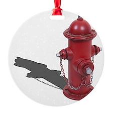 Fire Hydrant Ornament