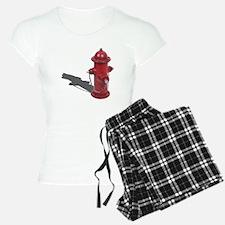 Fire Hydrant Pajamas