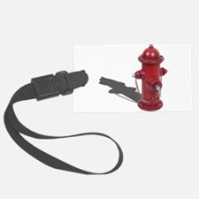 Fire Hydrant Luggage Tag