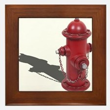 Fire Hydrant Framed Tile