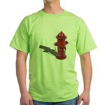 Fire Hydrant Green T-Shirt