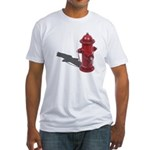 Fire Hydrant Fitted T-Shirt