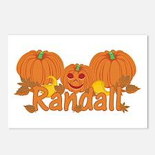 Halloween Pumpkin Randall Postcards (Package of 8)