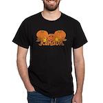 Halloween Pumpkin Randon Dark T-Shirt