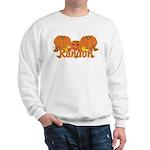 Halloween Pumpkin Randon Sweatshirt