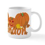 Halloween Pumpkin Randon Mug