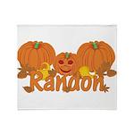 Halloween Pumpkin Randon Throw Blanket