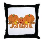 Halloween Pumpkin Randon Throw Pillow