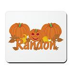 Halloween Pumpkin Randon Mousepad
