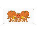 Halloween Pumpkin Randon Banner