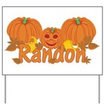 Halloween Pumpkin Randon Yard Sign
