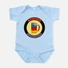German American Beer Stein Infant Bodysuit