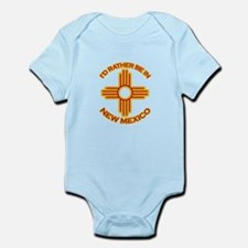 idratherbein-newmexico-outline.png Infant Bodysuit