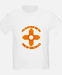 idratherbein-newmexico-outline.png T-Shirt