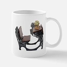 Desk with Globe Mug