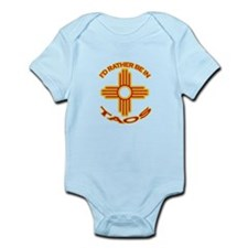 idratherbein-taos.png Infant Bodysuit