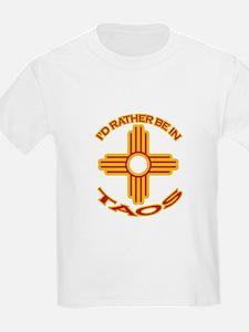 idratherbein-taos.png T-Shirt