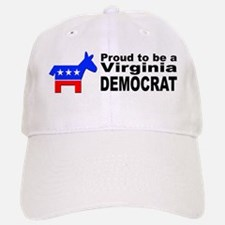Virginia Democrat Pride Baseball Baseball Cap
