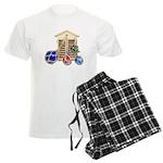 House Afloat Men's Light Pajamas