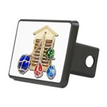 House Afloat Rectangular Hitch Cover