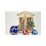 House Afloat Rectangle Magnet (100 pack)