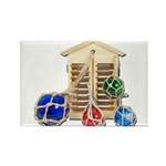 House Afloat Rectangle Magnet (10 pack)