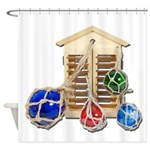 House Afloat Shower Curtain