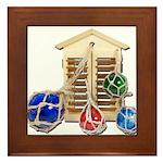 House Afloat Framed Tile