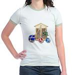 House Afloat Jr. Ringer T-Shirt