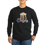 House Afloat Long Sleeve Dark T-Shirt