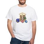 House Afloat White T-Shirt