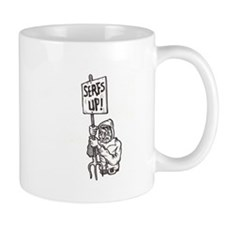 Serfs Up! Small Mug