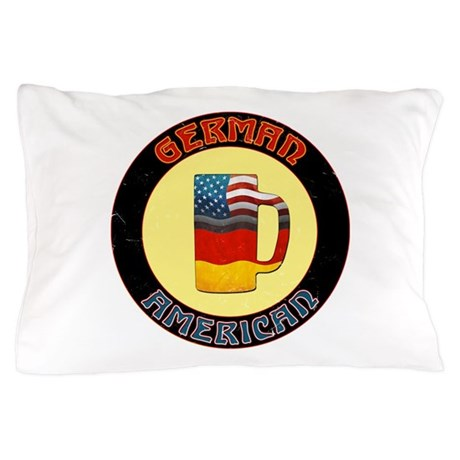 German American Beer Stein Pillow Case
