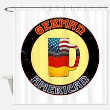 German American Beer Stein Shower Curtain