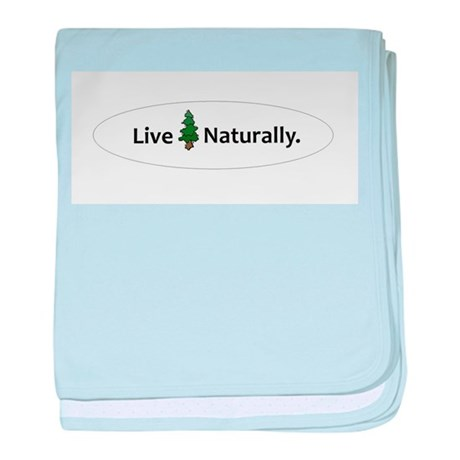 Live Naturally baby blanket
