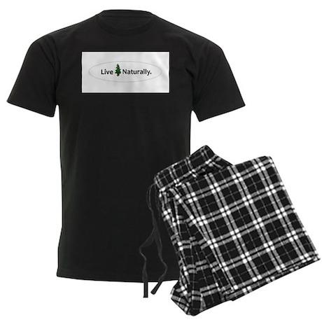 Live Naturally Men's Dark Pajamas