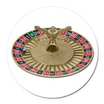 Roulette Wheel Round Car Magnet