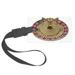 Roulette Wheel Large Luggage Tag