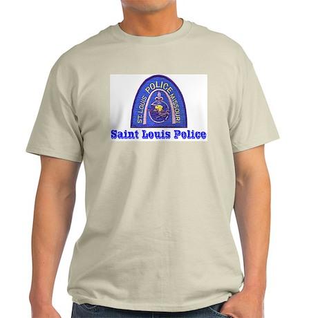 St. Louis Police Ash Grey T-Shirt
