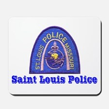 St. Louis Police Mousepad
