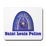 St. Louis Police Mousepad