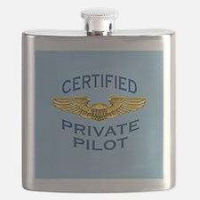 Pilot Wings: Certified (light blue) Flask