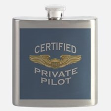 Pilot Wings: Certified Private Pilot (dark) Flask