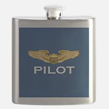 Pilot Wings: Pilot (dark) Flask