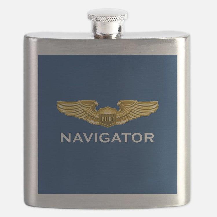 Pilot Wings: Navigator (dark) Flask