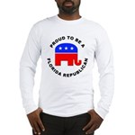 Florida Republican Pride Long Sleeve T-Shirt