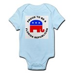Florida Republican Pride Infant Bodysuit