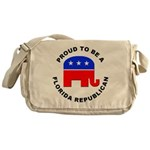 Florida Republican Pride Messenger Bag