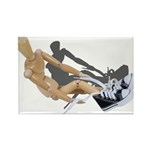 Tying Shoes Rectangle Magnet (100 pack)