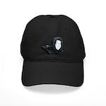 Lacey Black Scarf Black Cap